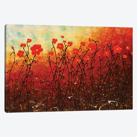 Blooming Flowers Canvas Print #CGZ5} by Carmen Guedez Canvas Art