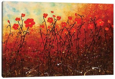 Blooming Flowers Canvas Art Print