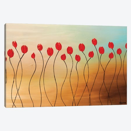 Morning Shimmers Canvas Print #CGZ75} by Carmen Guedez Canvas Artwork
