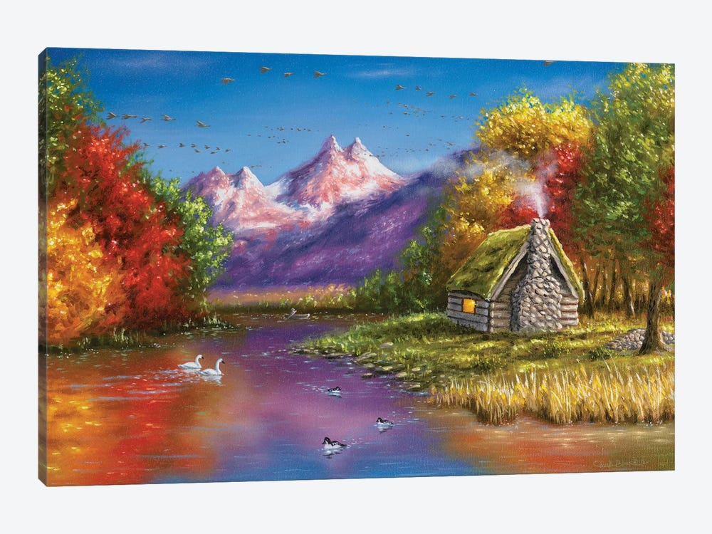 Autumn's Perfection by Chuck Black 1-piece Canvas Wall Art