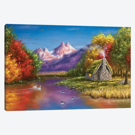 Autumn's Perfection 3-Piece Canvas #CHB10} by Chuck Black Canvas Print