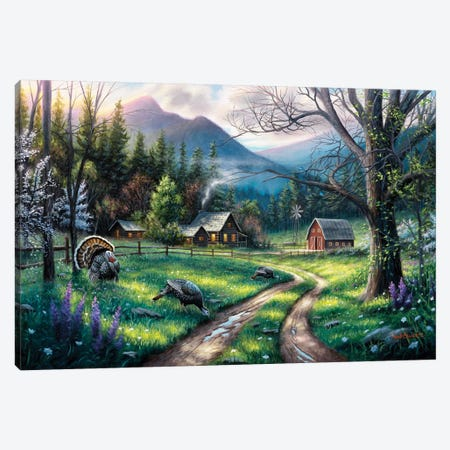 Bear Creek Ranch Canvas Print #CHB13} by Chuck Black Canvas Print