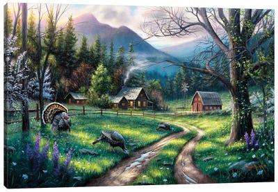 Bear Creek Ranch Canvas Art Print