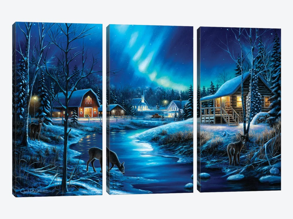 Beauty In Everything by Chuck Black 3-piece Canvas Artwork