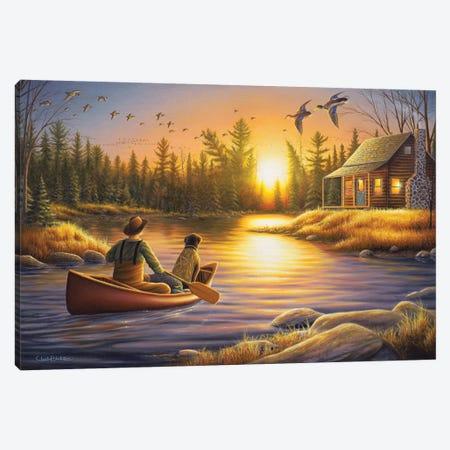 Best Friends Forever Canvas Print #CHB16} by Chuck Black Canvas Art
