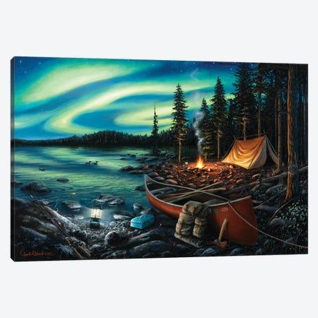 Campfire Memories Canvas Print #CHB19} by Chuck Black Canvas Print