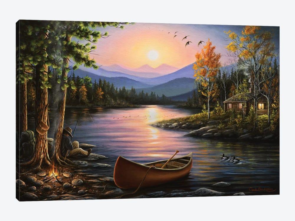 Campfire Stories by Chuck Black 1-piece Art Print