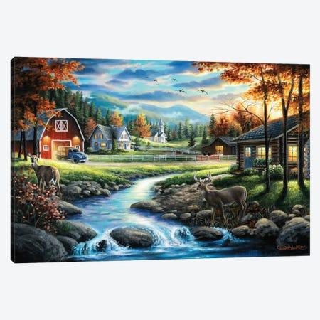 Country Living Canvas Print #CHB22} by Chuck Black Canvas Artwork