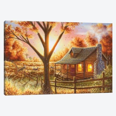 Fall Memories Canvas Print #CHB26} by Chuck Black Canvas Art Print