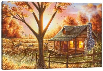 Fall Memories Canvas Art Print