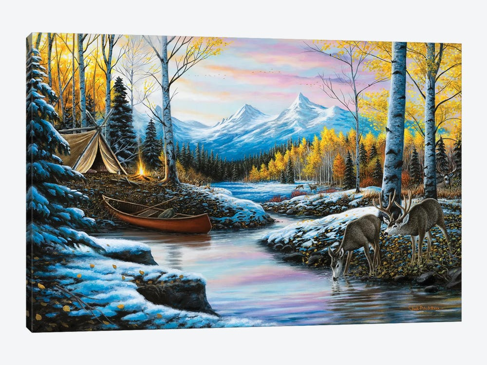 High Country Love by Chuck Black 1-piece Canvas Artwork