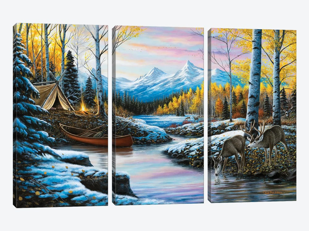 High Country Love by Chuck Black 3-piece Canvas Wall Art