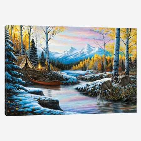 High Country Love 3-Piece Canvas #CHB29} by Chuck Black Canvas Wall Art