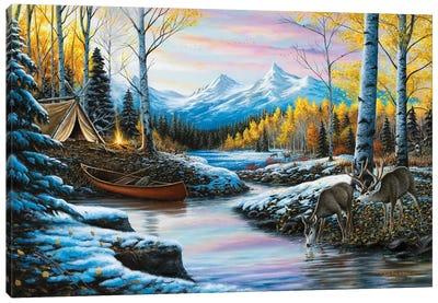 High Country Love Canvas Art Print