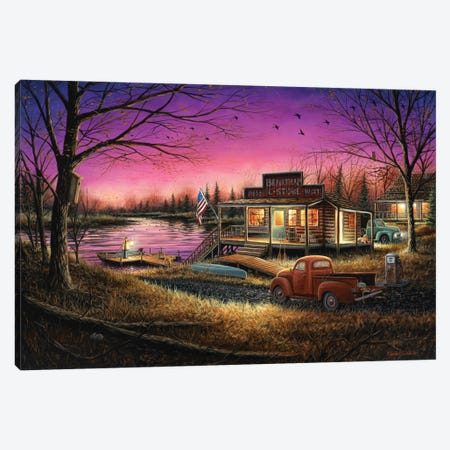 A Perfect Evening Canvas Print #CHB2} by Chuck Black Canvas Art Print