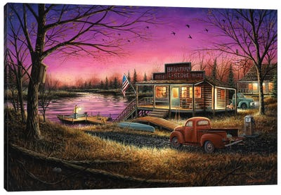 A Perfect Evening Canvas Art Print
