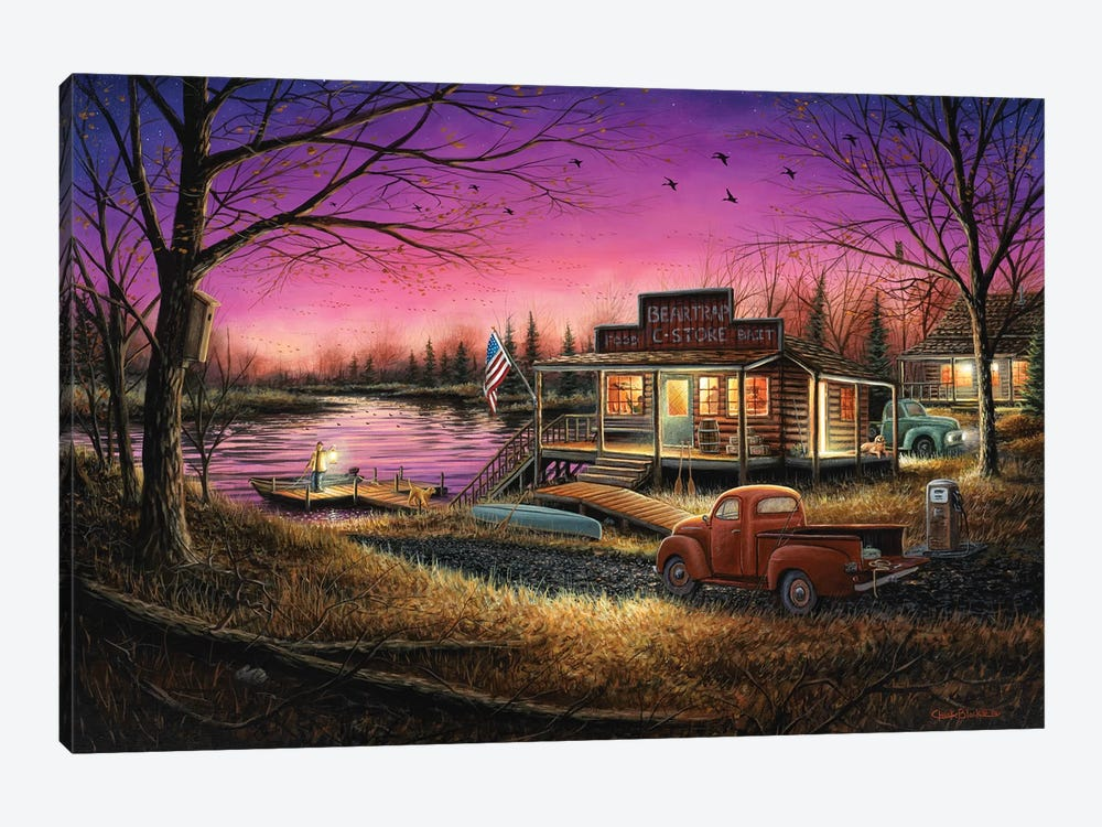 A Perfect Evening by Chuck Black 1-piece Canvas Wall Art
