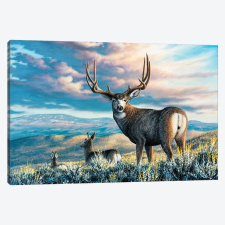 High Plains Legend Canvas Print #CHB30} by Chuck Black Canvas Print