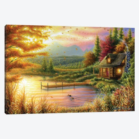 High-Country Cinnamon Canvas Print #CHB31} by Chuck Black Art Print
