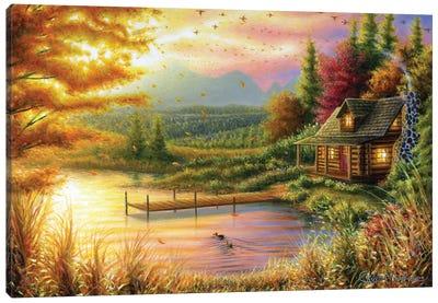 High-Country Cinnamon Canvas Art Print