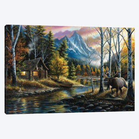 Living The Dream Canvas Print #CHB34} by Chuck Black Canvas Artwork
