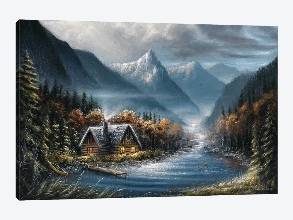 Lost Creek by Chuck Black 1-piece Canvas Print