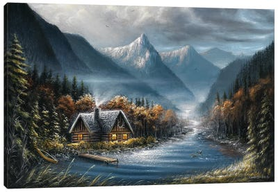 Lost Creek Canvas Art Print