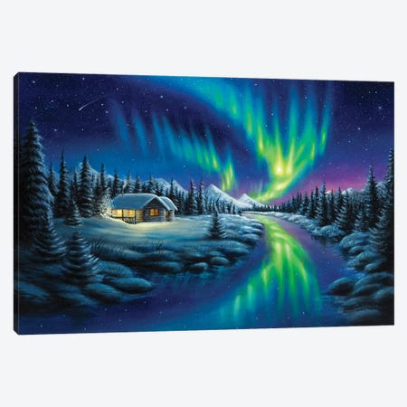 Make A Wish Canvas Print #CHB37} by Chuck Black Canvas Wall Art