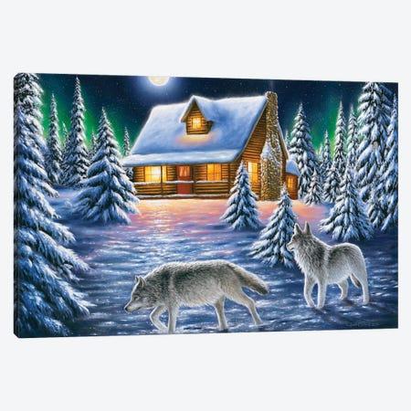 Nighttime Prowl Canvas Print #CHB43} by Chuck Black Canvas Art