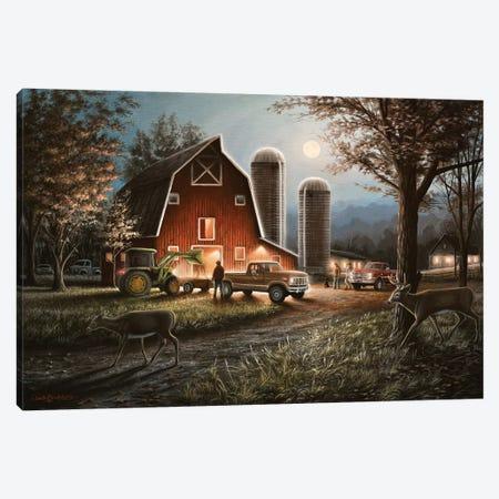 October Nights Canvas Print #CHB44} by Chuck Black Art Print