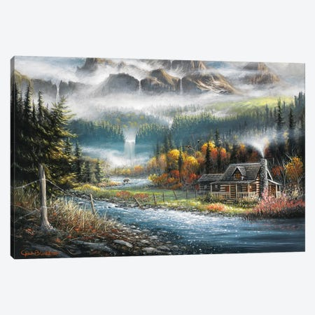 Paradise Valley Canvas Print #CHB46} by Chuck Black Canvas Art Print