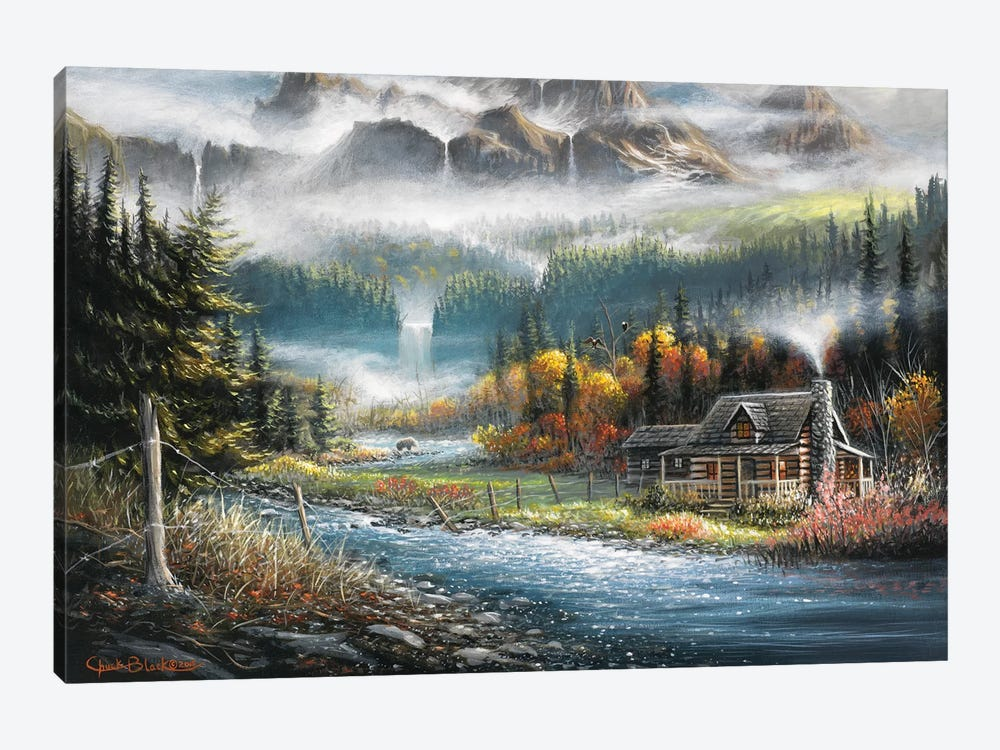 Paradise Valley by Chuck Black 1-piece Canvas Art Print