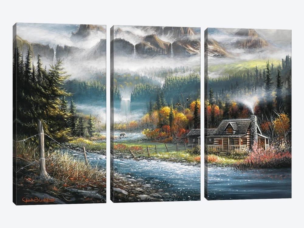 Paradise Valley by Chuck Black 3-piece Canvas Art Print