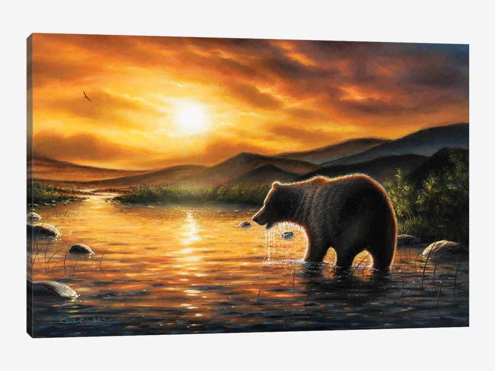 Persistence by Chuck Black 1-piece Canvas Art