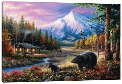 Routine Visitors Canvas Art Print