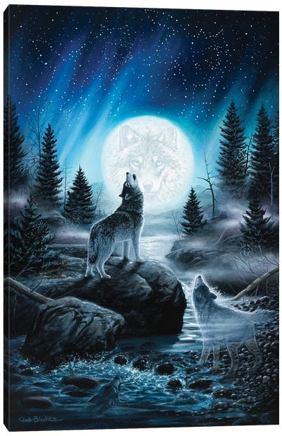 Spirits Of The Wild Canvas Art Print
