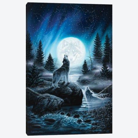 Spirits Of The Wild Canvas Print #CHB53} by Chuck Black Canvas Print