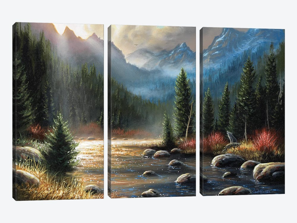 The Calling by Chuck Black 3-piece Canvas Art Print