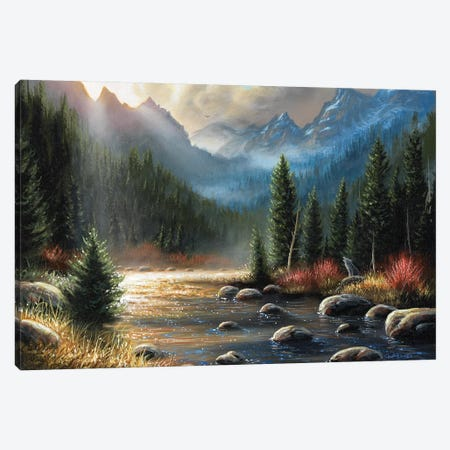 The Calling Canvas Print #CHB60} by Chuck Black Canvas Art