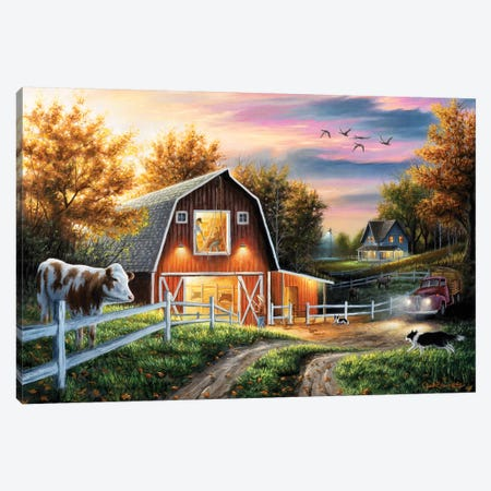 The Good Life 3-Piece Canvas #CHB64} by Chuck Black Canvas Art Print