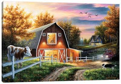 The Good Life Canvas Art Print