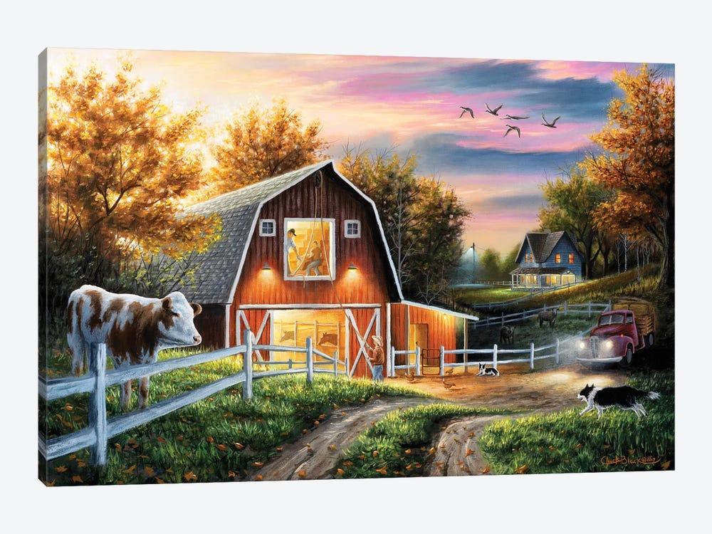 The Good Life by Chuck Black 1-piece Canvas Print