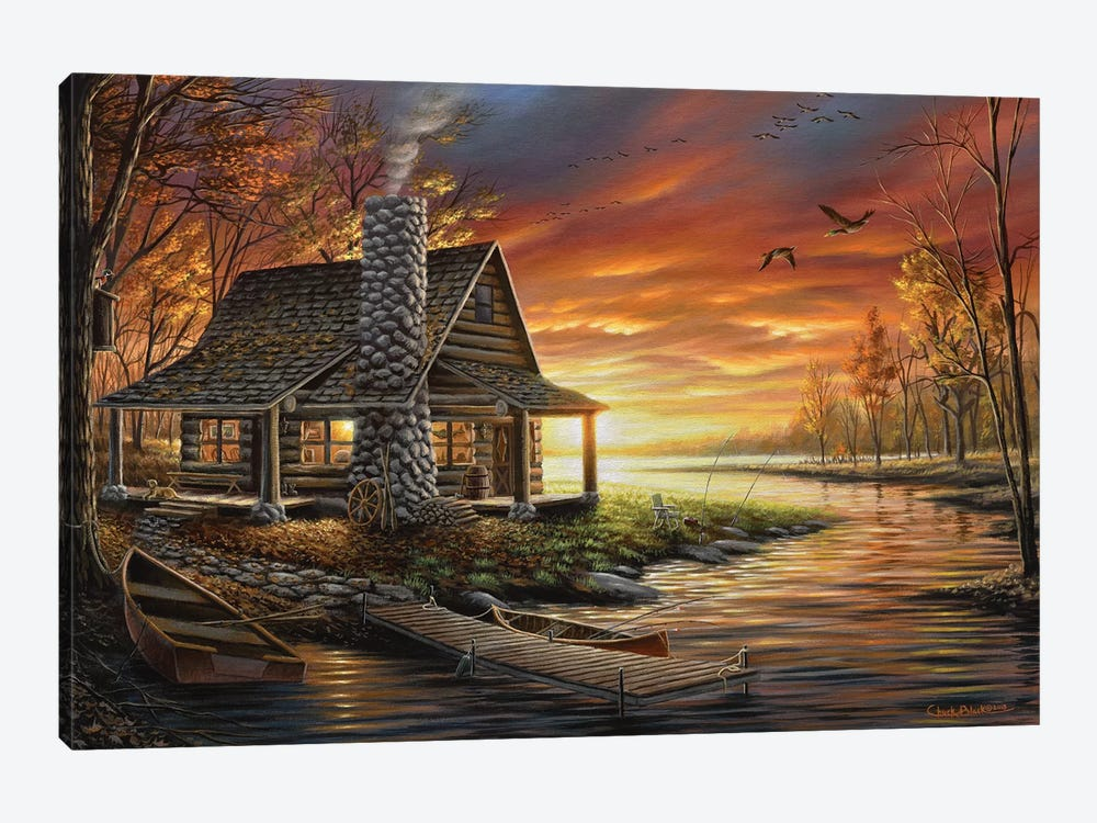 The Perfect Spot by Chuck Black 1-piece Canvas Art Print