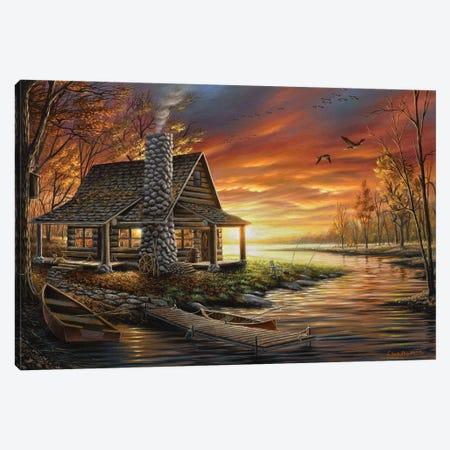 The Perfect Spot Canvas Print #CHB68} by Chuck Black Canvas Artwork