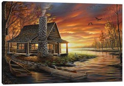 The Perfect Spot Canvas Art Print