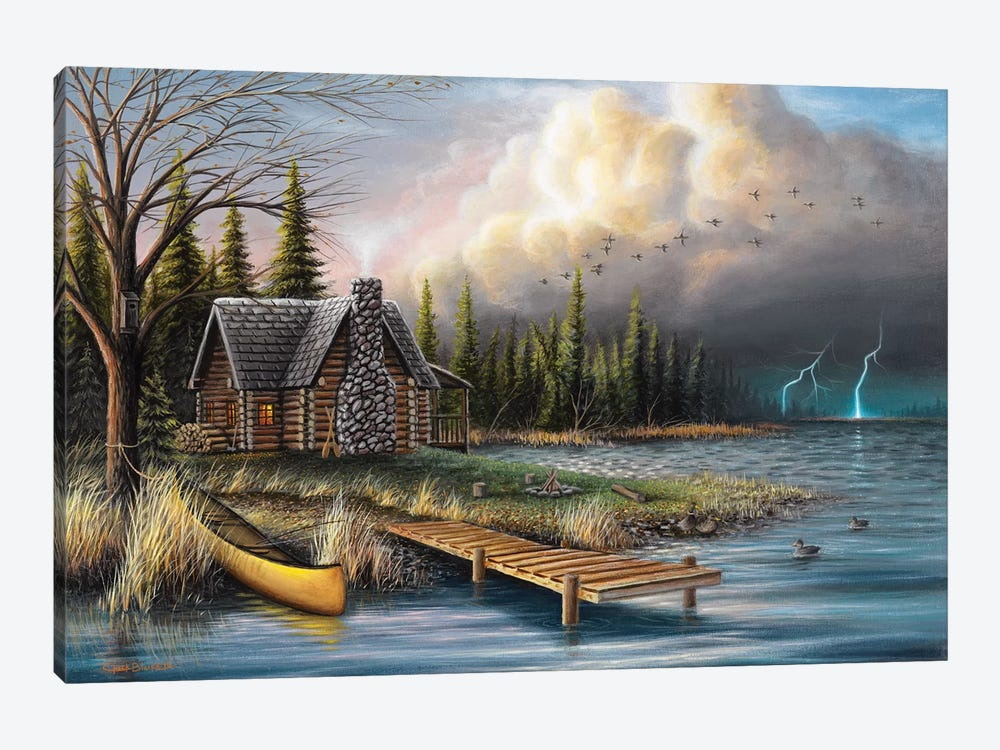 The Perfect Storm by Chuck Black 1-piece Canvas Wall Art