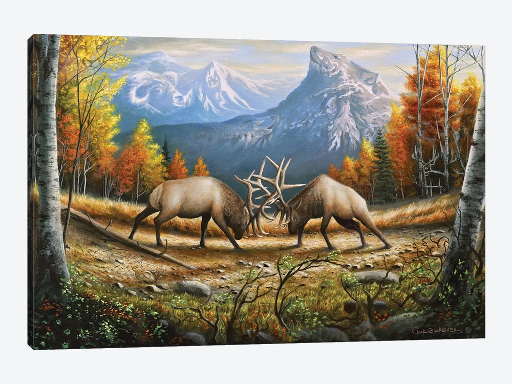 The Wild Frontier by Chuck Black 1-piece Canvas Print
