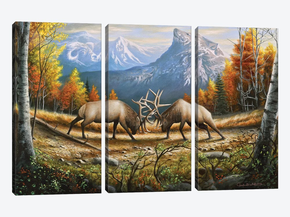 The Wild Frontier by Chuck Black 3-piece Art Print