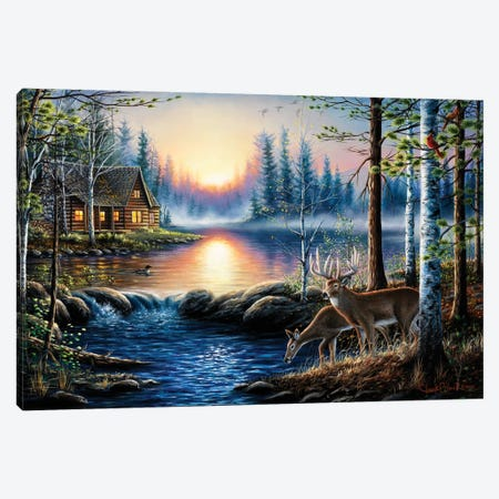 Total Bliss 3-Piece Canvas #CHB76} by Chuck Black Canvas Artwork