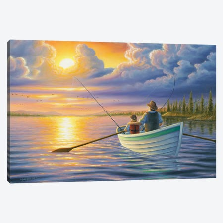 Unforgettable Moments Canvas Print #CHB79} by Chuck Black Canvas Print